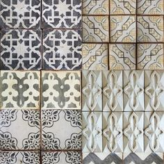 tabarka tile - just the ones with more than one color.