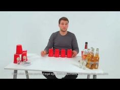 Flong! the best drinking game EVER! It's a little beer pong with a little flip cup... IT'S FLONG! :-)