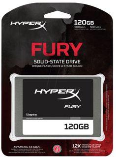 Disco De Estado Solido La unidad SSDNow V300 de estado sólido de Kingston es una actualización rentable que renueva su computadora. HD SSD HYPERX FURY 120GB KINGSTON-SHFS37A/120G Contado: $ 1.537,00 12 cuotas de $ 173,00 http://www.marcoskoganmultimedia.com/#!/producto/5288/