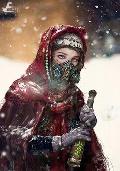Rs Series 02. winter, Wei Huai Xu on ArtStation at https://www.artstation.com/artwork/rs-series-02-winter