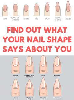 Have you ever wondered what is the secret that reveals, unconsciously, the way someone cuts his nails? Find Out What Your Nail Shape Says About You