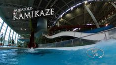 Napfényfürdő Aquapolis Szeged Kamikaze 360° VR POV Onride