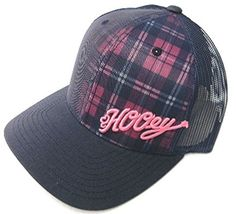 3dfabe9380775 HOOey Cap Guadalupe Navy and Pink Snapback Trucker Cap Cowboy Cap