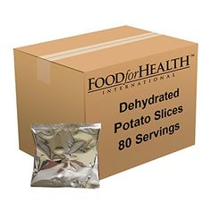 Food For Health International Dehydrated Potato Slices  80 Servings * See this great product.