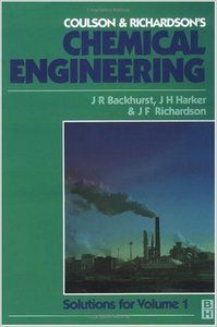 Free Download Coulson & Richardson's Chemical Engineering: Solutions to the Problems in Chemical Engineering, Volume 1 (sixth edition) By J. R. Backhurst and J. H. Harker and J. F. Richardson http://chemistry.com.pk/books/coulson-richardsons-chemical-engineering-volume1/