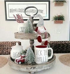 I have to do this to my coffee bar this year