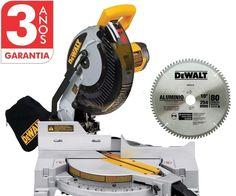 Serra Esquadria 10p 1600w 220v Dewalt Dw713 + Aluminio Mad - R$ 1.499,00 no MercadoLivre