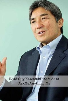 What qualities does he believe that most successful self-publishers have? Find out at AskMeAnything. Guy Kawasaki, Influential People, Self Publishing, Startups, Helping Others, Entrepreneur, Believe, Author, Success