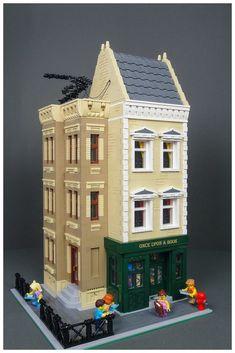 Another Brick in the Wall – lego Lego Modular, Off Grid, Home Upgrades, Lego City, Brick In The Wall, Lego Building Blocks, Building Ideas, Box Container, Diy Bathroom