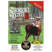 Whitetail Institute Imperial Secret Spot XL ~Made for small food plots, this 10 lb. bag contains enough seed to plant a sq. Deer Hunting Tips, Hunting Gear, Bow Hunting, Food Plots For Deer, Deer Food, Weird Fish, Hunting Equipment, Small Meals, Fish Art
