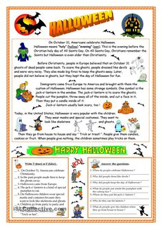 A collection of English ESL worksheets for home learning, online practice, distance learning and English classes to teach about halloween, halloween Halloween Vocabulary, Halloween Worksheets, Halloween Activities, Halloween Printable, Halloween Stories, Halloween Themes, Halloween Fun, English Activities, Reading Activities