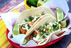 My first experience with fish tacos was in Ensenada, Mexico and they were delicious! Here's my version.