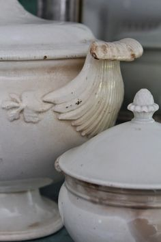 antique ironstone tureens