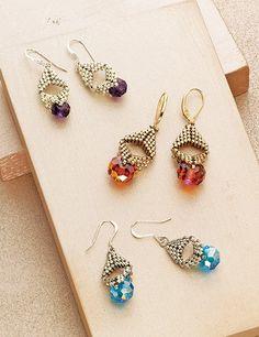 Briolette Bauble Earrings