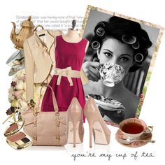 """""""Cup of Tea"""" by lizabethkate on Polyvore"""