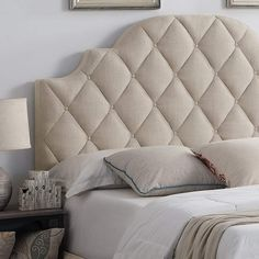 Essential design selection in your bed room is the headboard. In any case, it is the focal point and might change the vibe of a room immediately. Bed Headboard Design, Bookcase Headboard, Bedroom Bed Design, Panel Headboard, Headboards For Beds, Headboard Ideas, Panel Bed, Bed Back Design, Velvet Headboard