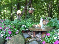 My millstone fountain