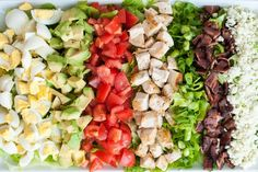 Classic Cobb Salad w Red Wine Vinaigrette Recipe