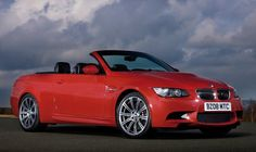 Red BMW M3 Convertible