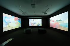 Uudam Tran Nguyen, Vietnam, b.1971 / Serpents' Tails 2015 / Three-channel HD video installation,16:9, 18:30minutes, sound, colour, ed.of 5 + 2 AP / This project has been partially supported by The Cultural Development and Exchange Fund (CDEF) of Denmark / Courtesy and ©: The artist