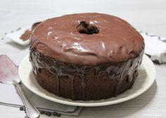 Chiffon+Cake+al+cioccolato+glassata