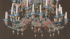 lampadario veneziano : Il lampadario Rezzonico esposto alla mostra sul Murano del museo ...