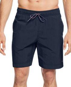 TOMMY HILFIGER Tommy Hilfiger Men'S Tommy Swim Trunks. #tommyhilfiger #cloth # swimwear