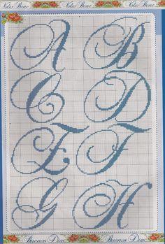 ABC azul