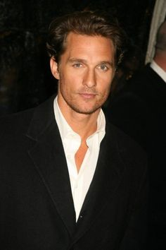 Matthew McConaughey - ooh if only I were two weeks younger!