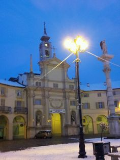 Piazza Annunziata with today show - Venaria Reale