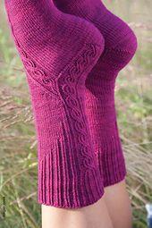 Knitting Patterns Socks Ravelry: Underpass pattern by Yarnissima Crochet Socks, Knit Mittens, Knitting Socks, Hand Knitting, Knitting Patterns, Knit Crochet, Knit Socks, Patterned Socks, Textiles