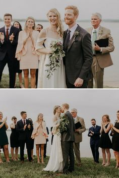 A rustic lakeside wedding in Virginia | Photo by Liron Erel Echoes & Wild Hearts