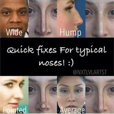 Tips on nose contour