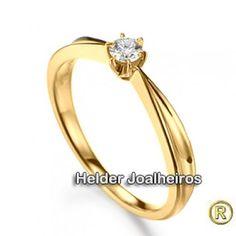 Solitário - Ouro Amarelo 18k 750