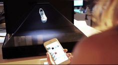 The Dreamoc  Smartphone Control Smartphone Interactive 3D Holographic Display System – a Proof-of-concept where the user interacts with virtual products using nothing more than a smartphone. Any smartphone will do, without the need to install additional software. A regular web browser is enough to interact with the product on display.  Works with any Smartphone  android_apple_windows