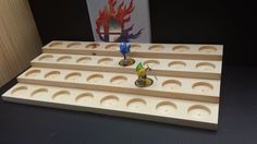 Super Amiibo Stand! by CustomAmiiboStands on Etsy https://www.etsy.com/listing/230509479/super-amiibo-stand