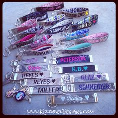 • Visit our Website: www.KizzybelDesigns.com • Like us on Facebook: www.Facebook.com/KizzybelDesigns • Follow us on IG & Twitter: http://instagram.com/kizzybeldesigns http://www.Twitter.com/kizzybeldesigns #military #militaryjewerly #support #homecoming #jewelry #kizzybeldesigns #customjewelry #army #navy #usmc #charms #airforce #militarycharms #nametape #armywife #nametapebracelet #bracelet #keychain #usa #america #custom #siliconebracelet #gift #deployment #craft #crafts #DIY #milso…