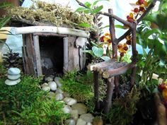 another great tutorial full of ideas for fairy garden furniture, flowers, and mushrooms!