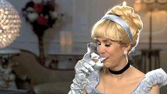 SNL Cinderella Drinking #gif disney