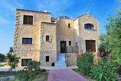 Villa Loutra in Rethymnon, Crete  (www.crete-holidayvillas.com)