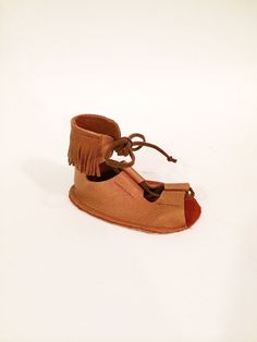 The Brass Razoo Kids Boho leather gladiator sandals for infants and toddlers