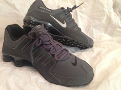 release date: 9edd6 0746d Details about 🔥 Nike SHOX NZ Mens Size 7.5 Dark Grey Black Athletic  Running Shoes 378341-059