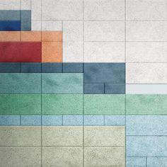 Sound absorption-Wall coverings-BAUX Träullit-BAUX Tile Design, Pattern Design, Creative Sound, Acoustic Wall Panels, Sound Absorption, Floor Texture, Workspace Design, Display Ideas, Tiles