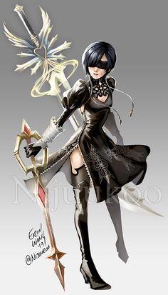 I draw things. Fantasy, Character Design, Crossovers, Character Art, Xion Kingdom Hearts, Pics, Hearts Girl, Anime, Kingdom Hearts Games