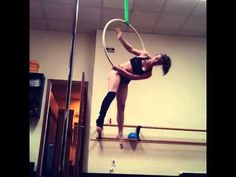Perhaps an addition to reverse around the world series Aerial Hoop Shouldermount - YouTube