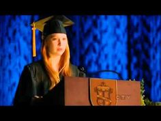 Castle || 4x23 Alexis' Graduation Speech - YouTube