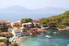 Assos, Griekenland (eiland Kefalonia)