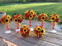 rustic sunflower wedding bouqets  | Recent Photos The Commons Getty Collection Galleries World Map App ...