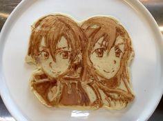 L'art de faire de vos pancakes des œuvres d'arts... Le restaurant La Ricetta Restorante Pizzeria, au Japon à trouvé le moyen de faire le buzz en réalisant de stupéfiant pancakes !!