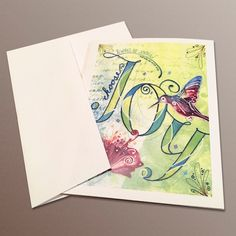 These joyful notecards make an ideal hostess gift or a perfect thank you notes that can be used for the holidays season and year-round.